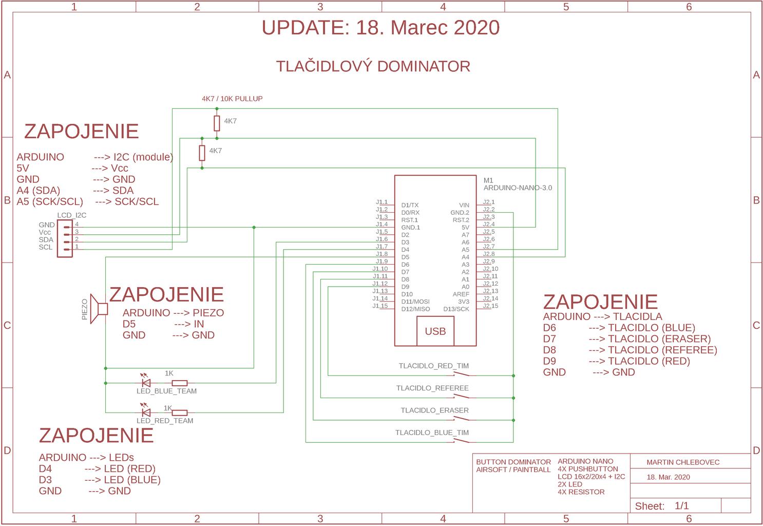 Wiring Diagram - RFID DOMINATOR