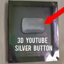 DIY 3D YouTube Silver Play Button