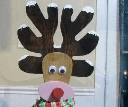 Cute Wooden Reindeer