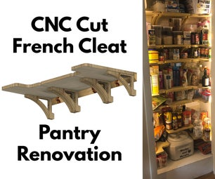 Renovating a Pantry With French Cleat Shelving