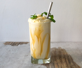 """Guaraná"" Soda Milkshake   Brazilian '60s Drink"