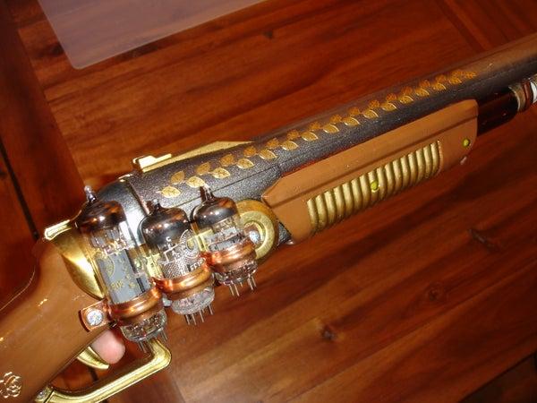 Steampunk Shotgun