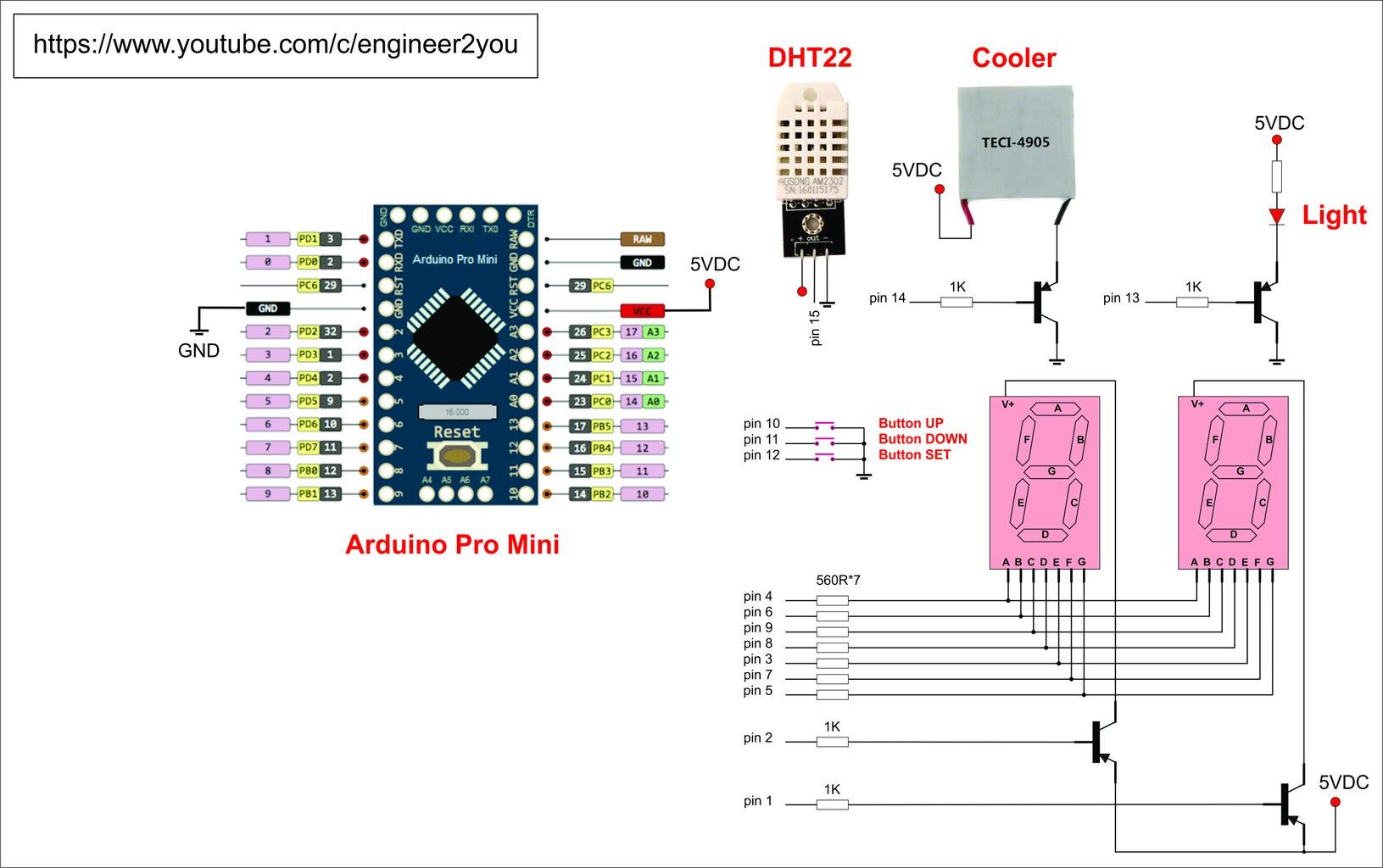 Connect Humid Sensor and Control Humid