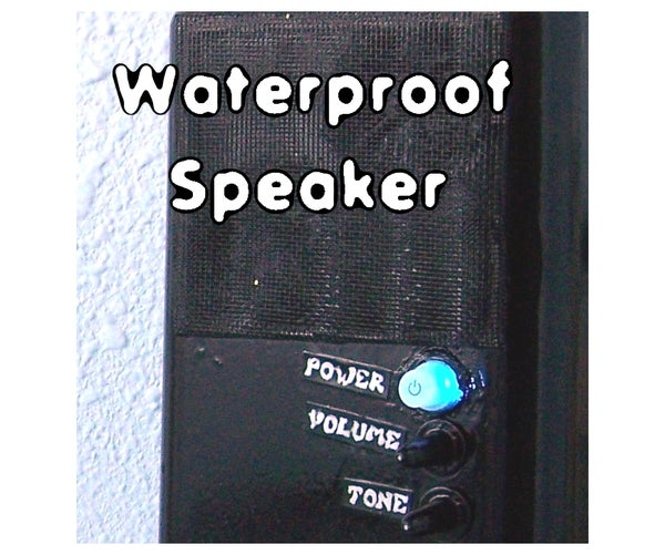 Waterproof Speaker for Better Shower Singing