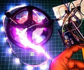 Driving RGB LED Strip Using Arduino
