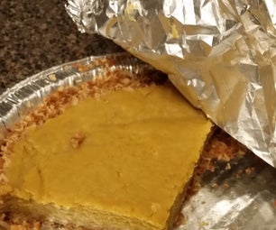 Cereal Crust Pumpkin Squash Pie