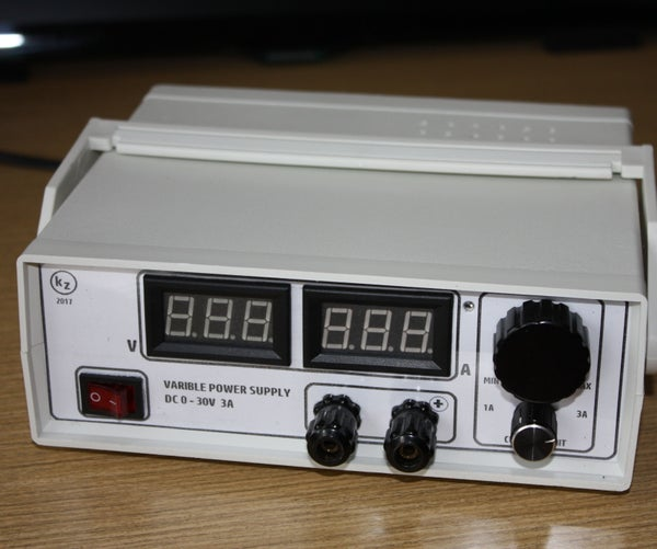 Small Variable Power Supply