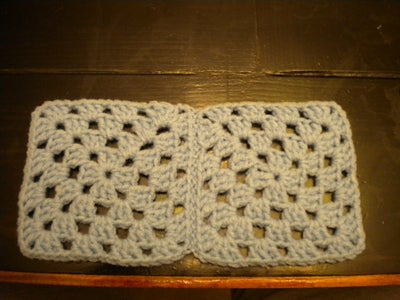 Sew Together Individual Squares Into Rows