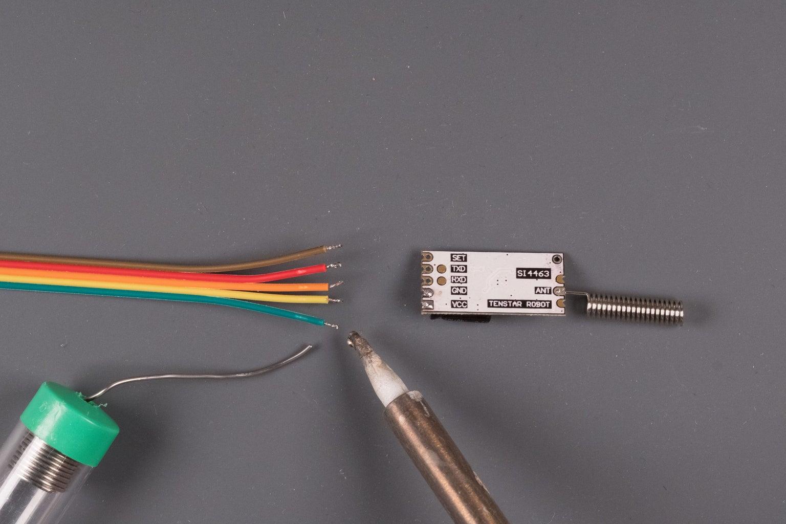 Tutorial 1 - ESP32 Based RF Sensor Hub