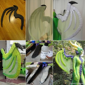 Create Dragon Wings