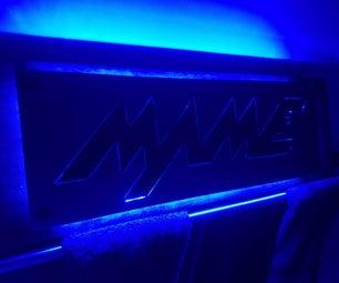 MAME Light Up Arcade Sign