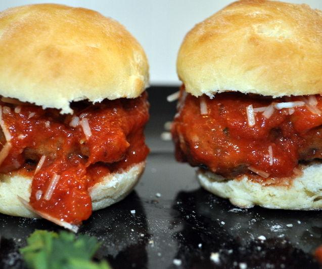 How to make Italian Meatball Sliders
