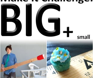 Monthly Challenge: Big and Small