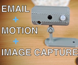 Motion Triggered Image Capture and Email