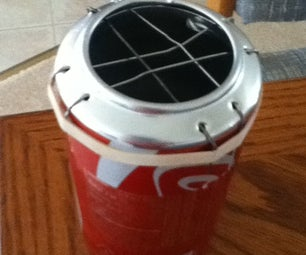 Soda Can Grill