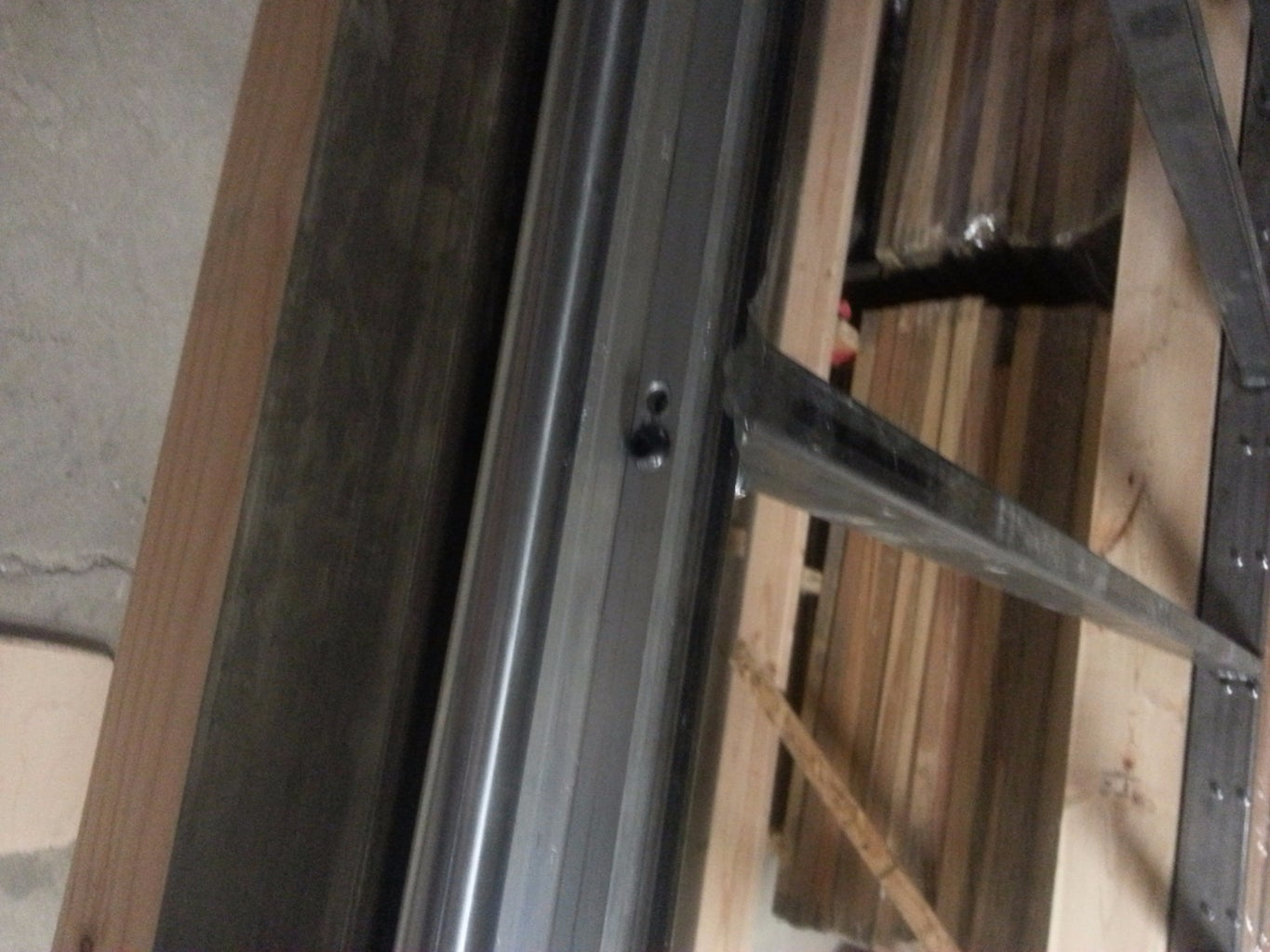 Attach the Y-axis Rails to the Steel Table