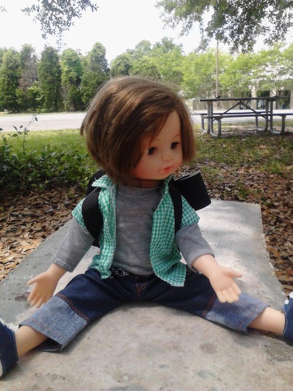 Wireless Nunchuk Controlled Animatronic Doll