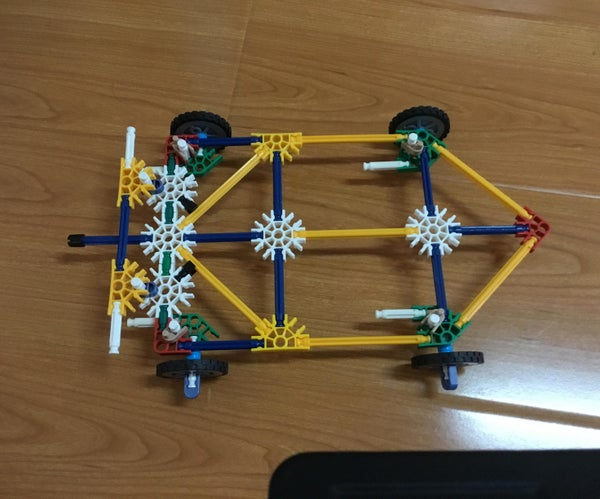 Knex Go-Cart With Instructions