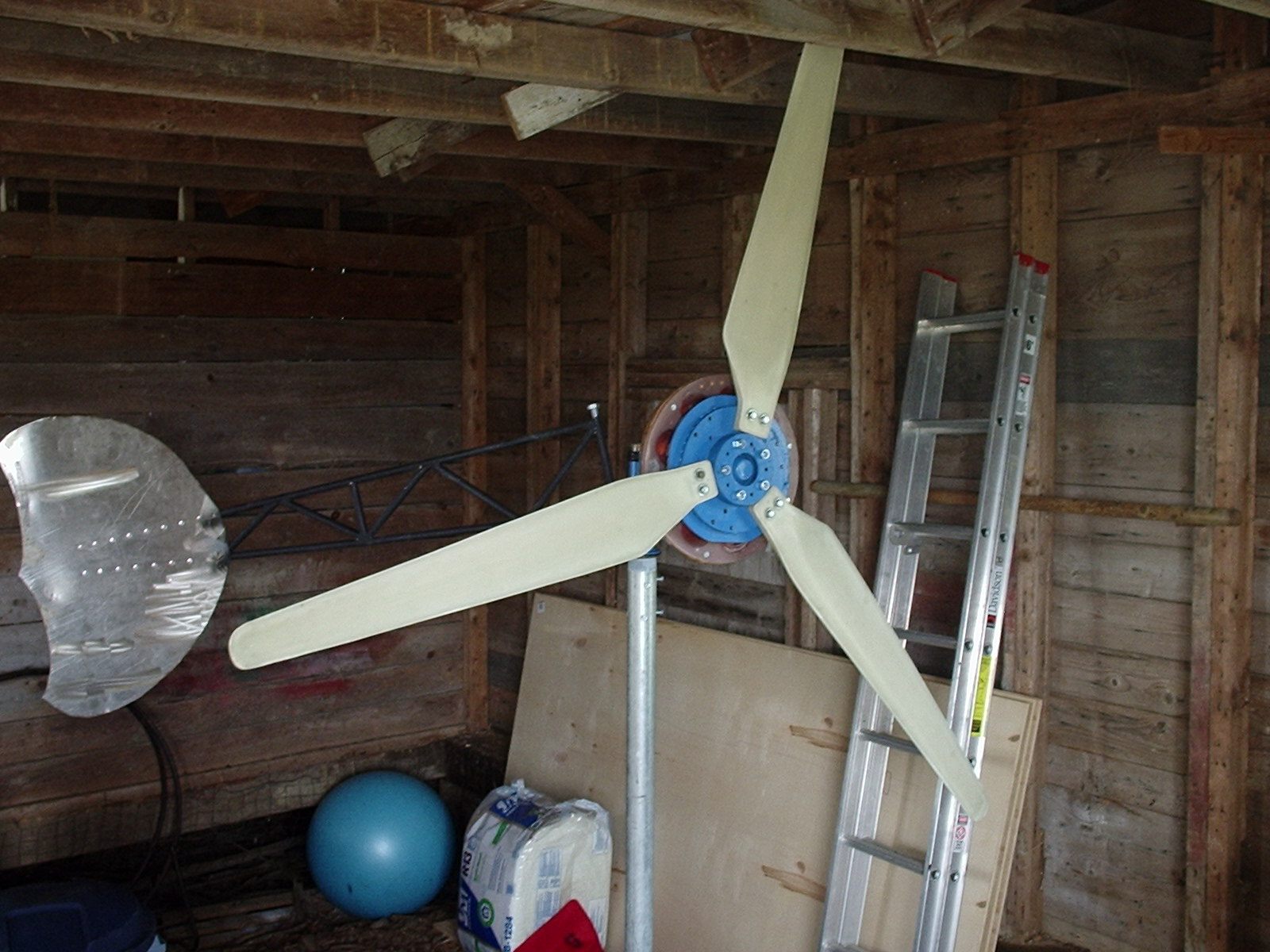 7 Foot Axial Flux Wind Turbine