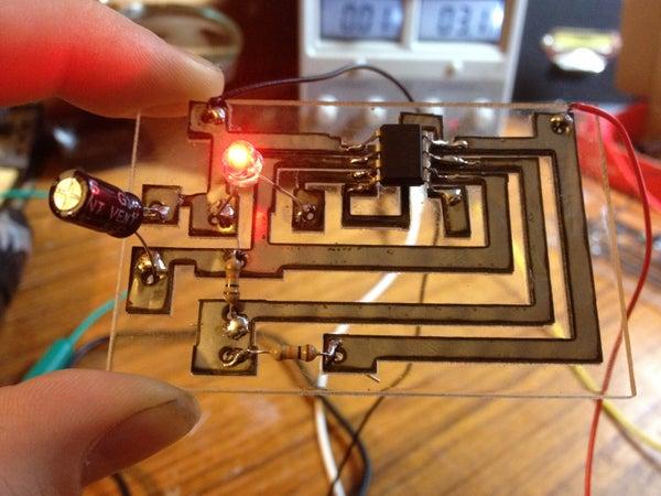 Laser Cut Circuit Boards