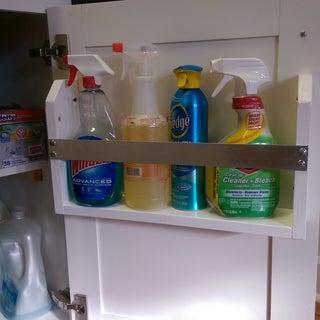 Homemade Kitchen Cabinet Door Organizers