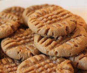 Vegan and Gluten Free Peanut Butter Cookies