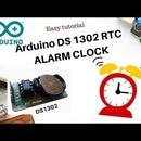 Arduino DS1302 RTC Alarm Clock