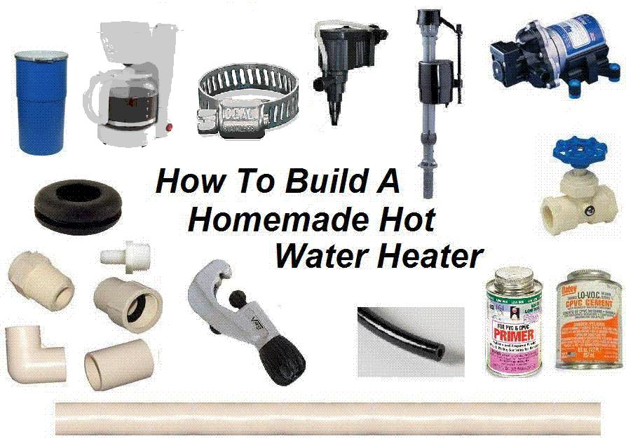 How To Build A Homemade Water Heater