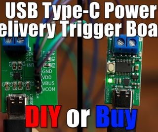 DIY USB Type-C电源触发板