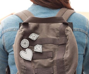 Easy Embroidered Reflective Badges