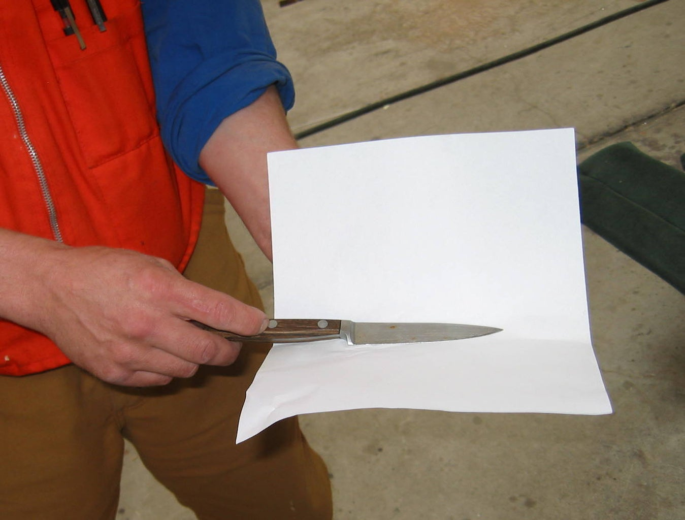 Knife Sheath From Paper