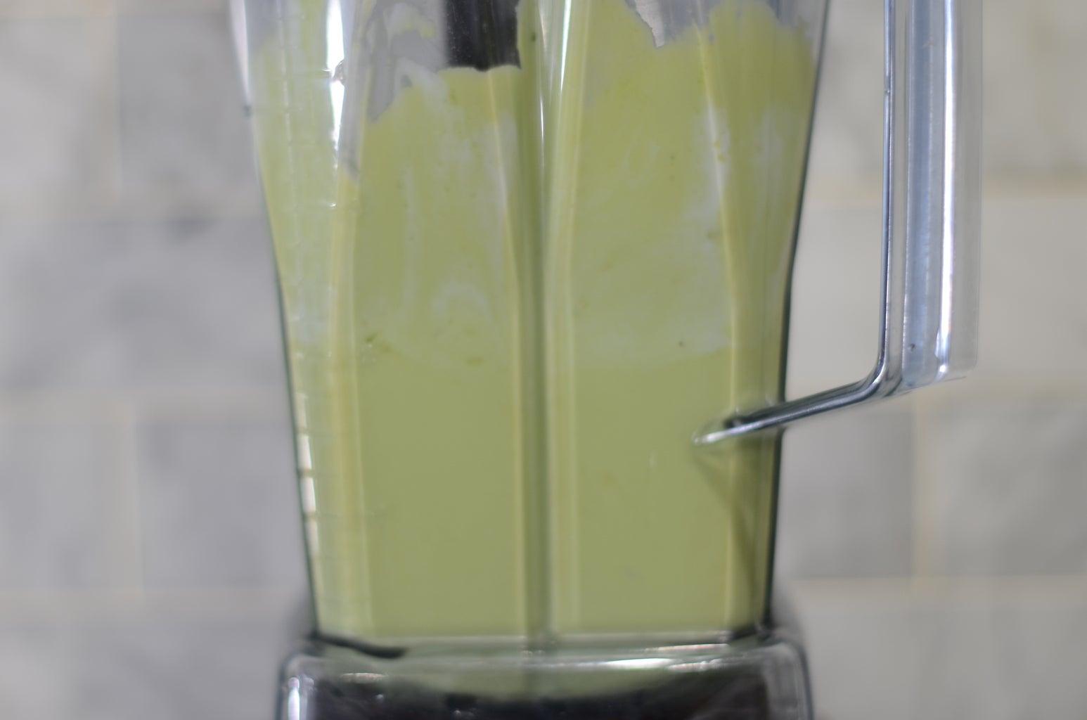 Avocado Frozen Yogurt Bars