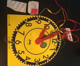 Makey Makey Judy Clock