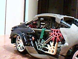 Extreme V8 Knex Car