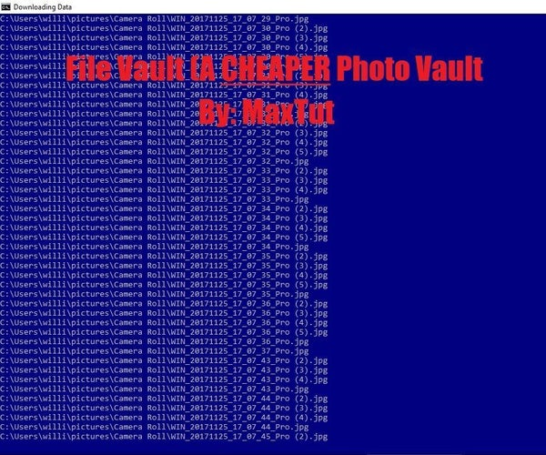 DIY File Vault From Old Flash Drive