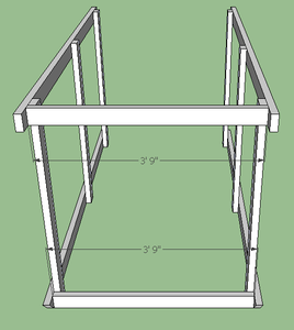 Attach Front Wall Braces