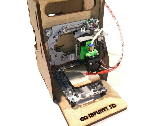 Curiosity 80$ EWaste Educational 3D Printer