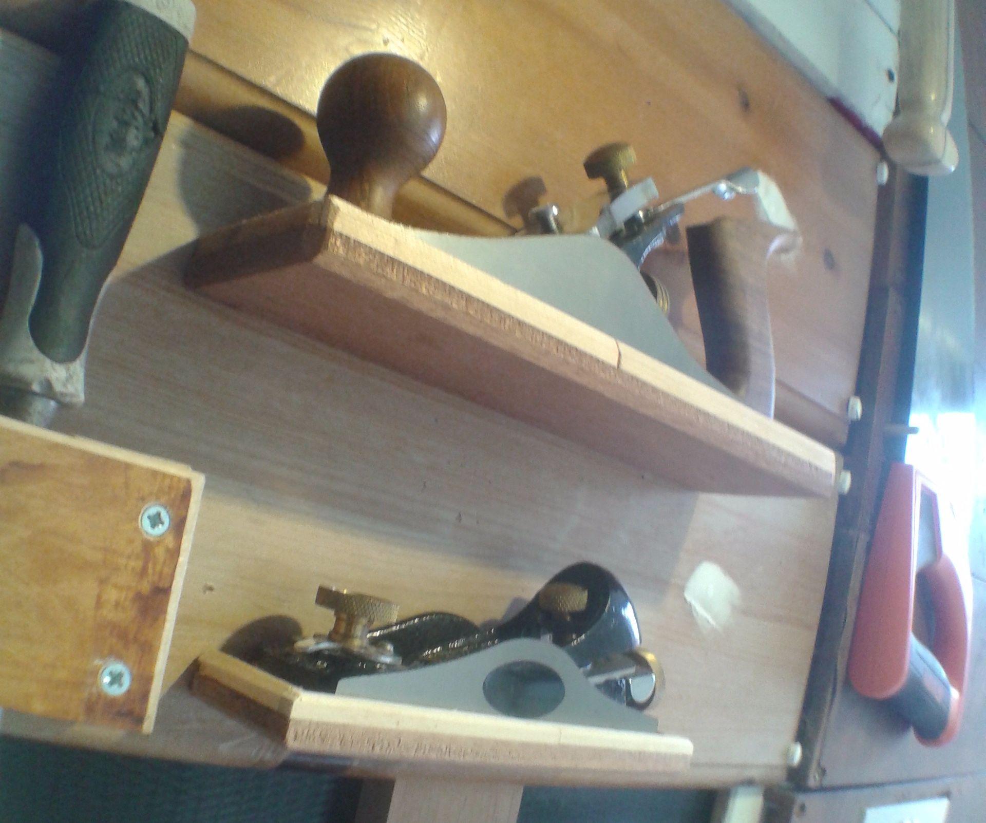Plane Holder / Floating Shelf