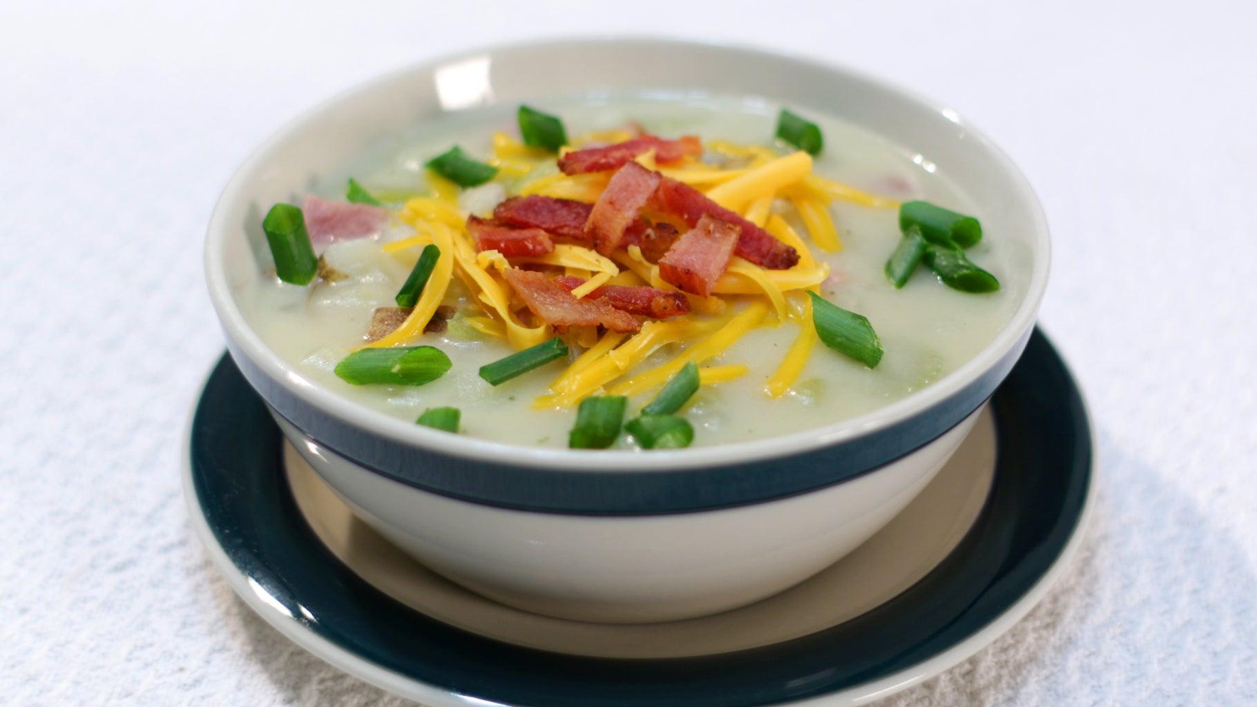 Amazing Ham and Potato Soup
