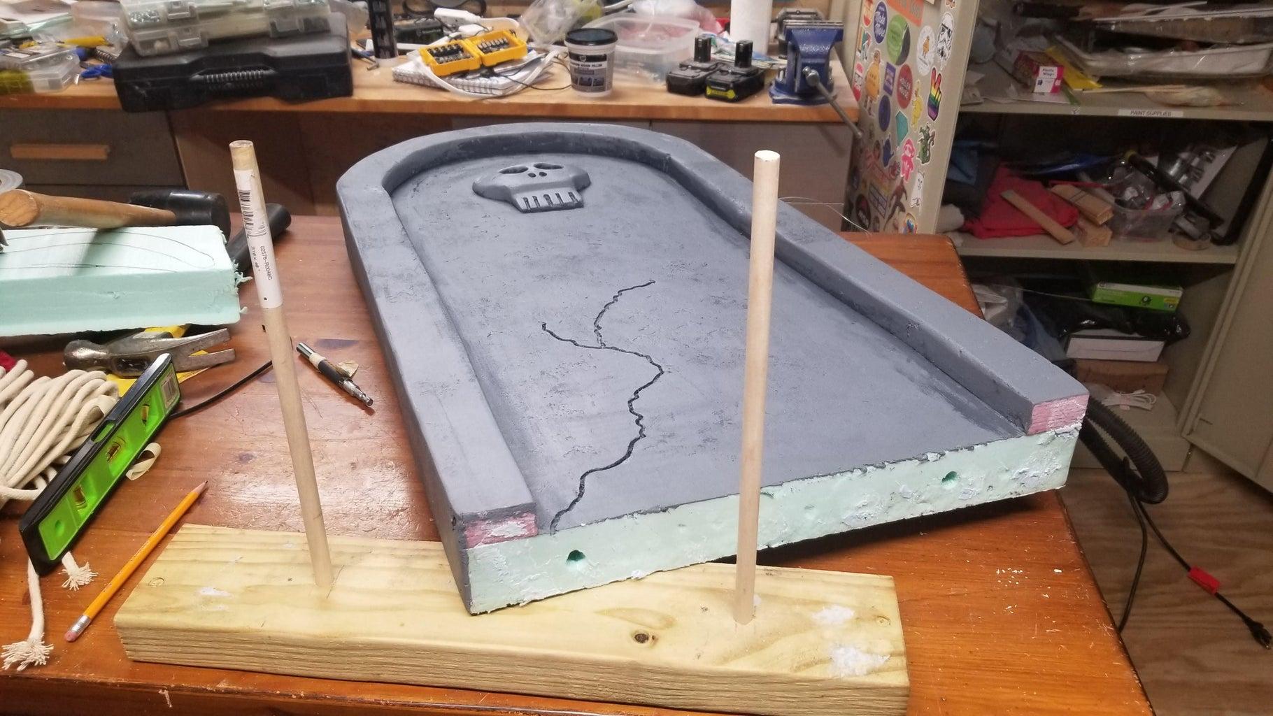 How to Make the Gravestones