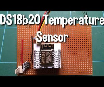 DS18b20 Temperature sensor as a thermostat