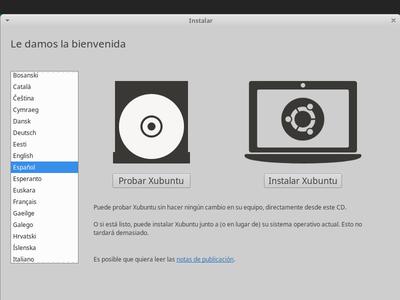 Paso 2: Instalar Xubuntu