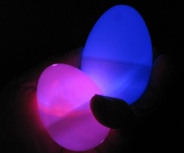 Easter Eggs That Glow and Change Color