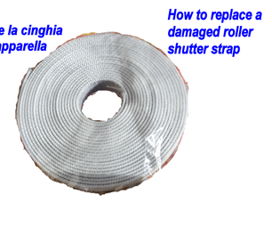How to DIY Replace Roller Shutter Strap
