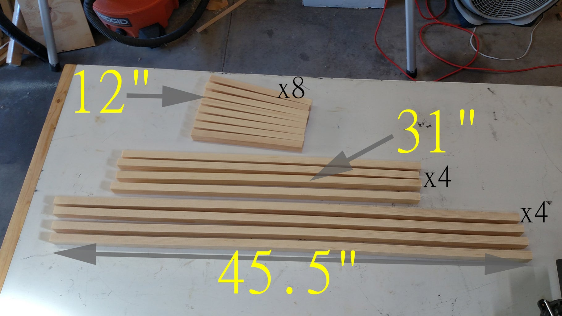 Cut Wood Into Strips