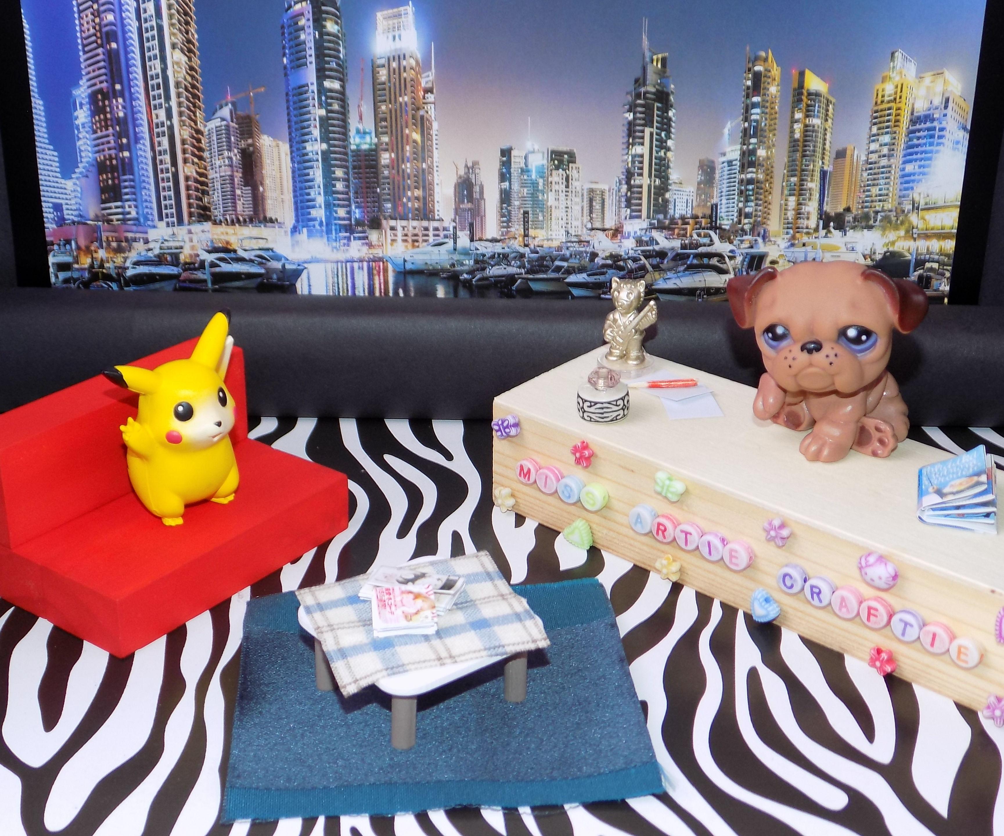 DIY Miniature Talk Show Set