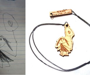 Vectorizing Drawings for Laser Engraving and Cutting Jewelry (Free Samples Too!)