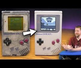 Restore Game Boy or Similar Electronics
