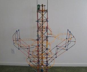 K'nex Rolercoaster and Ferris Wheel