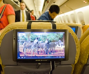 Tablet Airplane Seat Mount